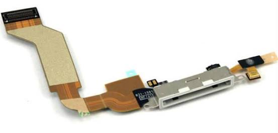 iPhone 4s white charging port